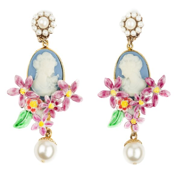 Cameo earrings Dolce&Gabbana