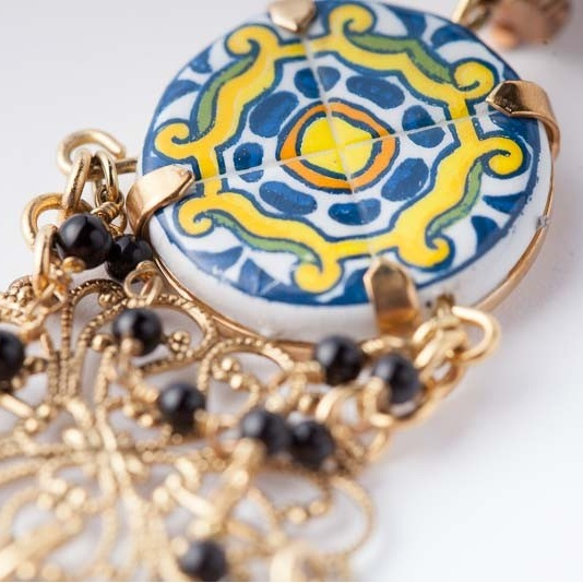 Majolica earrings Dolce & Gabbana