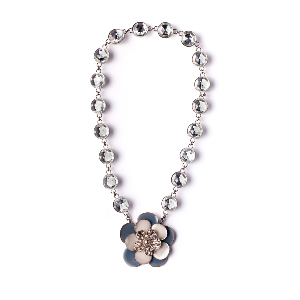 8420fa74c76b Crystal flower necklace Miu Miu - 4Element