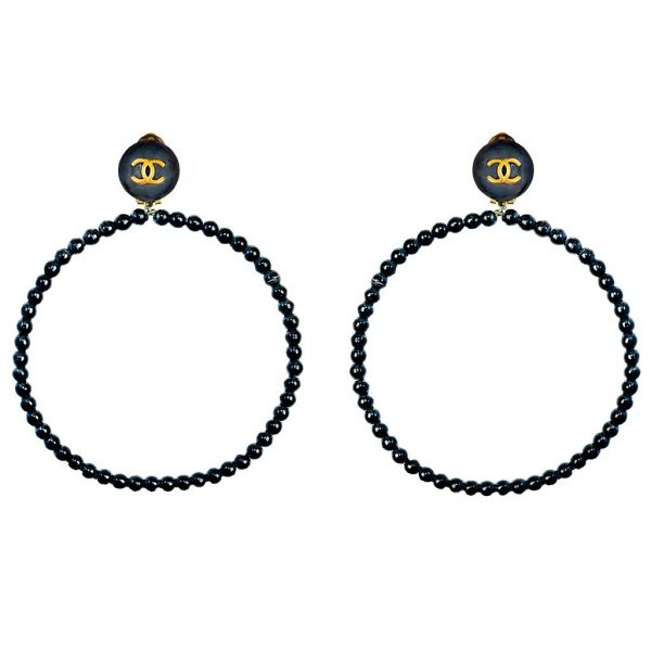 Vintage hoop earrings Chanel