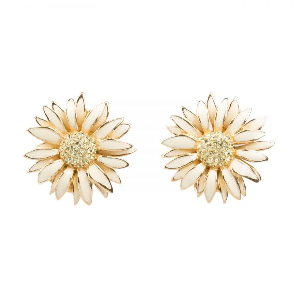 Vintage daisy earrings Dior