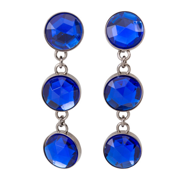 Blue drop earrings Miu Miu