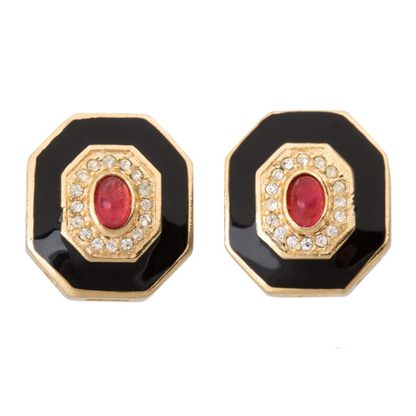 Vintage art deco style earrings