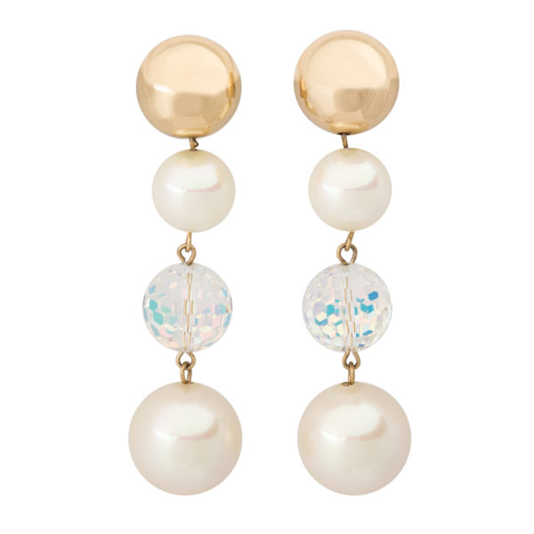 Pearl Linear Earrings Dior