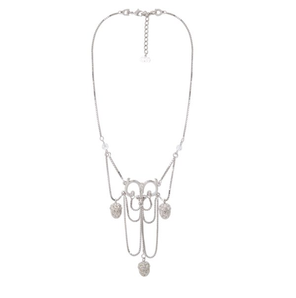 Silver Acorn Necklace Dior