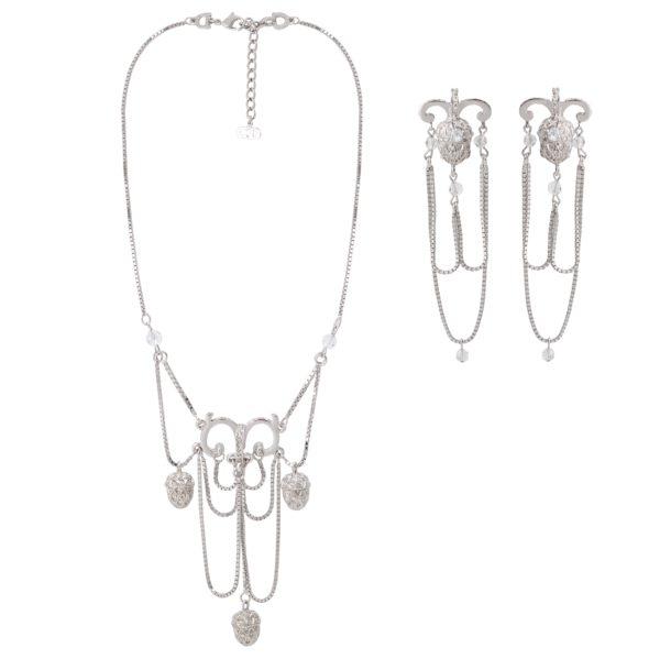 Silver Acorn Set Dior
