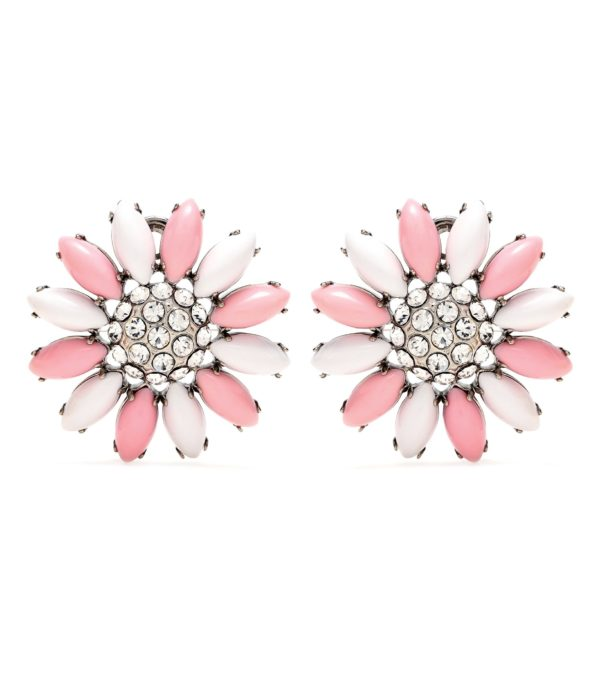 Pastel daisy earrings