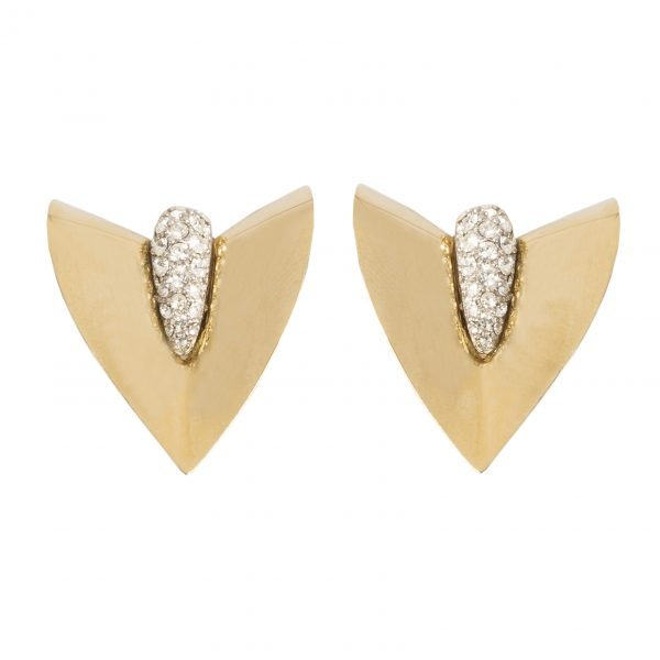 Vintage arrow shape earrings