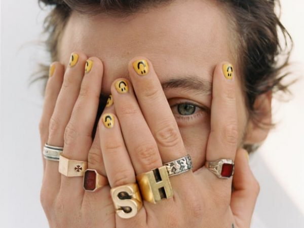 GOLDEN boy:  Harry Styles and his fashion jewellery sense