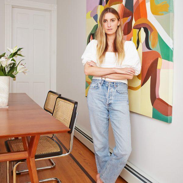 Allison in her NYC apartment ©Shoji Van Kuzumi