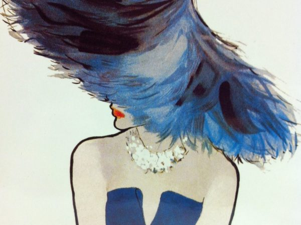 René Gruau: a master of vintage couture illustrations