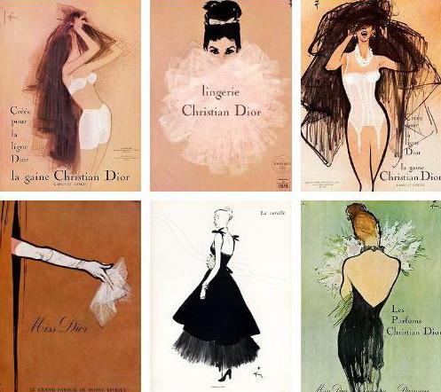 René  Gruau posters, © Gruau Collection