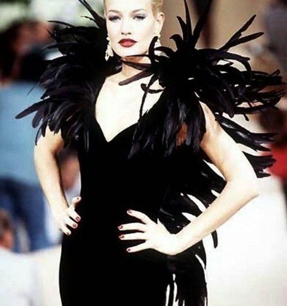velvet Dior 1990 haute couture