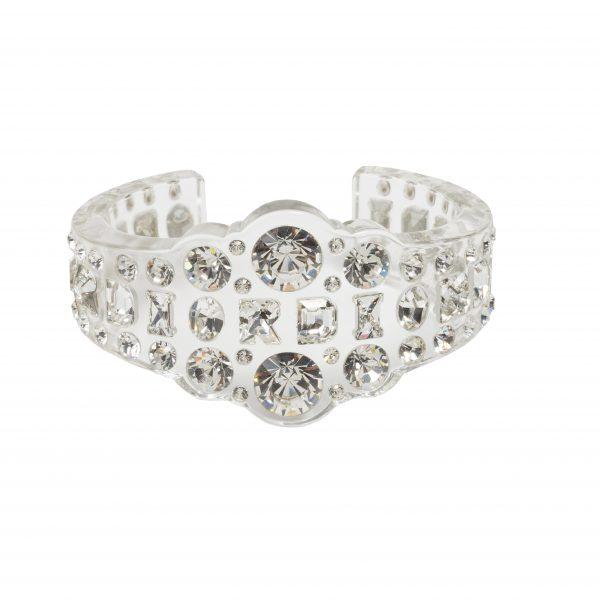 Vintage Haute Couture lucite bracelet