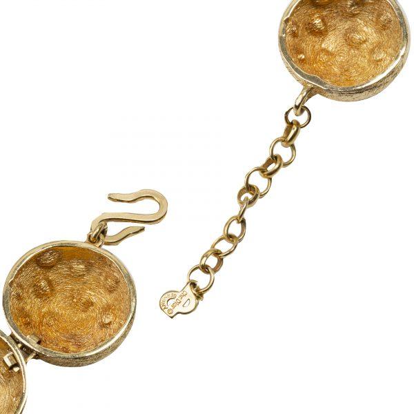 4element - Christian Dior - Vintage gold spheres necklace