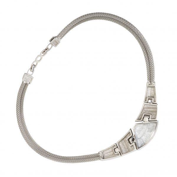 4element - Christian Dior - Vintage art deco style necklace