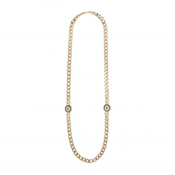 Vintage art deco style long necklace