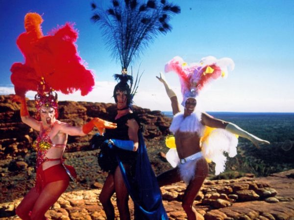 The Adventures of Priscilla, Queen of the Desert  – pioneering LGBTQ+ movie gem and riotous fashion